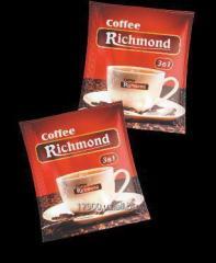 CoffeeRichmond 3in1 кофе сахар сливки 20 гр