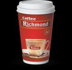 Кофе Ричмонд 3в1 в Бумажном Стаканчике по 26 гр  на 250 мл