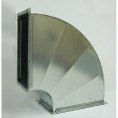 Прямоугольный отвод 90 (горизонтальный)