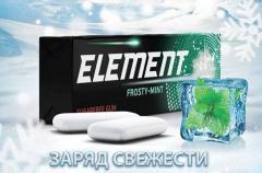 Жевательные резинки Element Frosty-mint