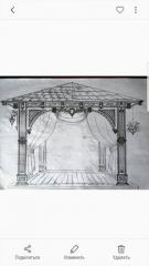 Садовая кровать вид 17