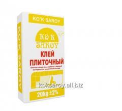 KO`K SAROY Кафельный клей 20 кг