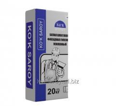 KO'K SAROY White Facade Plaster Reinforced 20 kg