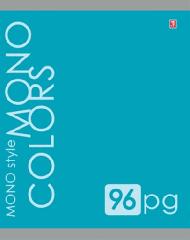 Общая тетрадь однотонная 96 листов