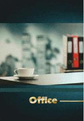 Деловой журнал формат А4 96 листов с лентой