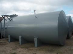 Резервуар горизонтальный цилиндрический