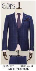 Мужской костюм Slim fit 71207636
