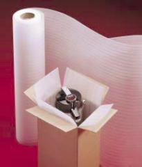 Packing material from the made foam polyethylene