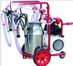 Double milking machines