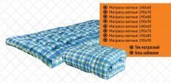 Ватный матрас синий 190х80