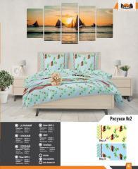 Комплект постельного белья рисунок 2