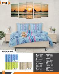 Комплект постельного белья рисунок 77