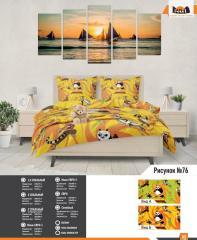 Комплект постельного белья рисунок 76