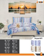 Комплект постельного белья рисунок 74