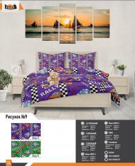 Комплект постельного белья рисунок 9
