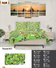 Комплект постельного белья рисунок №71