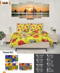 Комплект постельного белья рисунок №11