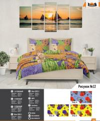 Комплект постельного белья рисунок №12