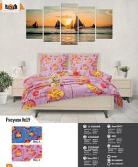Комплект постельного белья рисунок №19