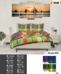 Комплект постельного белья рисунок №20