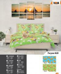 Комплект постельного белья рисунок №58
