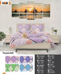 Комплект постельного белья рисунок №25