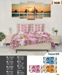 Комплект постельного белья рисунок №28