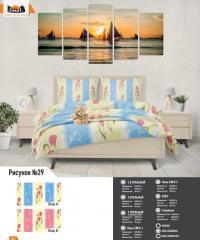 Комплект постельного белья рисунок №29