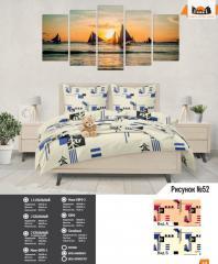 Комплект постельного белья рисунок №52