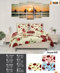 Комплект постельного белья рисунок №30
