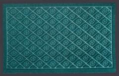 Грязезащитный ворсовый ковер узорчатый