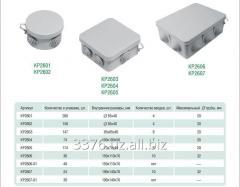 Коробки открытой установ IP 55 КР2601,2602,2603,2604,2605 2606 2606-01 2607