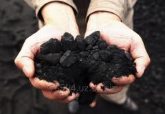 Уголь бурый марки Б, теплоотдача 5800-6500 ккал,