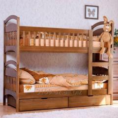 Двухъярусная кровать Зайчик