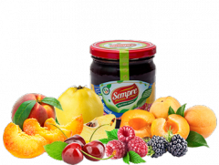 Джемы из натуральных фруктов