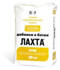 ЛАХТА добавка в бетон КМД
