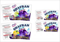 Гель для мытья посуды Shafran