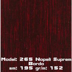 Model: 265 Nopeli Suprem Bordo
