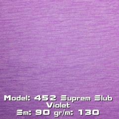 Model: 452 Suprem Slub Violet