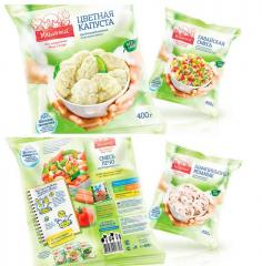Упаковка для замороженных продуктов