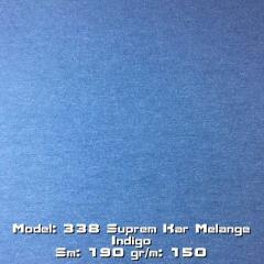 Model: 338 Suprem Kar Melange Indigo