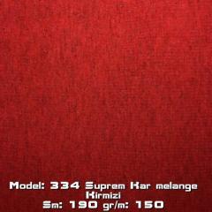 Model: 334 Suprem Kar melange Kirmizi