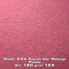 Model: 334 Suprem Kar Melange Pembe
