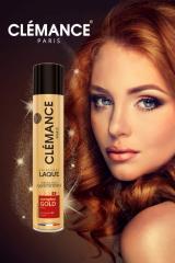 Лак для волос CLÉMANCE PARIS COMPLEX GOLD
