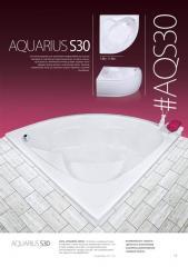 Акриловая ванна AQUARIUS S30