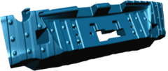 Задний энергопоглатитель Cobalt GSVEM