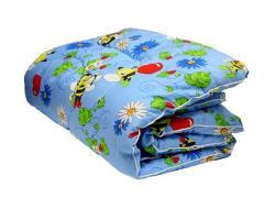 Ватное одеяло детское 110x145