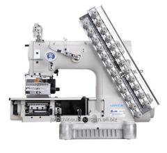 12-игольная швейная машина цепного стежка Jack JK-8009VC-12064P