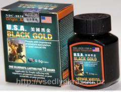 Таблетки Чёрное золото для потенции в...