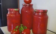 Помидоры в томатном соусе